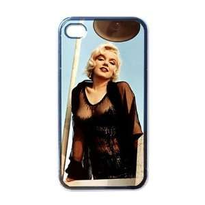Marilyn Monroe Apple RUBBER iPhone 4 or 4s Case / Cover