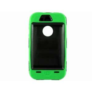 Green Robot PC Silicone Hard Case Combo Cover Shell for