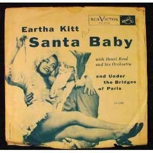 Santa Baby / Under the Bridges of Paris: Henri Rene Eartha Kitt: Music