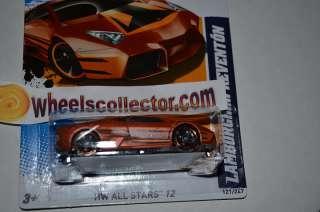 LAMBORGHINI REVENTON * Copper * 2012 Hot Wheels * New just out * D