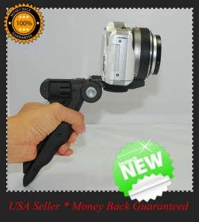 Mini Tripod Hand Held Grip 2 1 Digital Camera Stand Flash New USA in