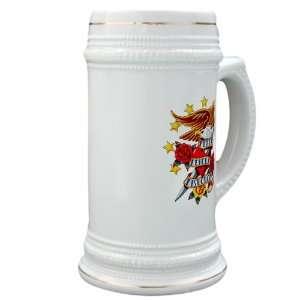 Glass Drink Mug Cup) Bald Eagle Death Before Dishonor: Everything Else