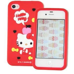 Case Cover for Apple Iphone 4 4gs Red Cell Phones & Accessories