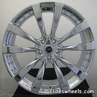 22x9 Chrome Dale Jr DMP 5x4.75 Chevrolet Blazer Jimmy 4wd Camaro