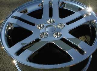 NEW 18 FACTORY DODGE MAGNUM CHARGER OEM CHROME WHEEL RIM   1 SINGLE