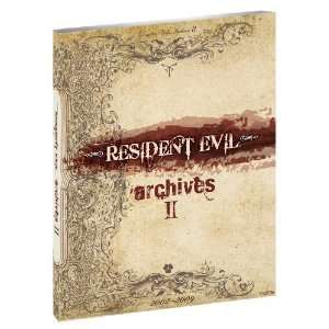 Resident Evil Archives Volume 2 (Brady Games) [Paperback
