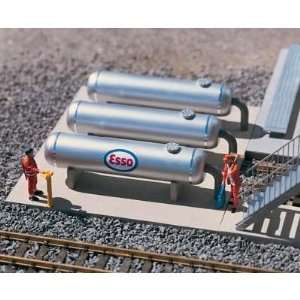 REFINERY STORAGE TANKS   PIKO G SCALE MODEL TRAIN BUILDINGS 62048