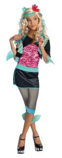 Lagoona Blue CHILD Costume Size M Medium 8 10 NEW Monster High