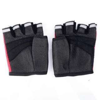 Mesh Half Finger Bike Cycling Sports Gloves Mittens Hot