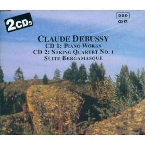 Claude Debussy International String Quartet N. Y., Piano