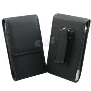 Leather Case Belt Clip Pouch For LG Optimus One P500 h