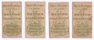 Beauties Smoke Girls Cigarette Tobacco Cards Set /B.A.T