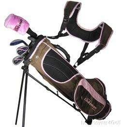GIRLS Junior Golf Club Set Childrens Bag Kids Age 5 9