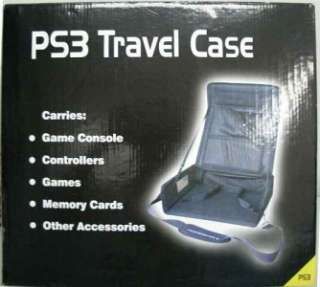 Travel Case for Sony PS3 Console Controllers + More