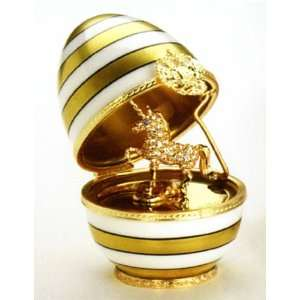 Faberge Egg   Imperial Unicorn Surprise Egg Home