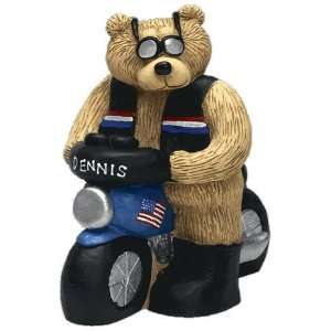 Biker Teddy Bear Personalized Toys & Games
