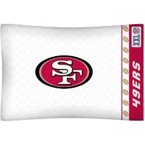 NFL San Francisco 49ers Locker Room Pillowcase Sports