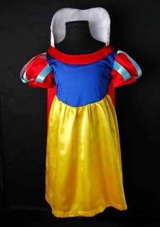 Lovely Girls Snow White Princess Dress Costume SZ 4T 5T