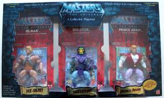 MAN MOTU COMMEMORATIVE SERIES LIMITED EDITION 5 PACK W/PRINCE ADAM MIB