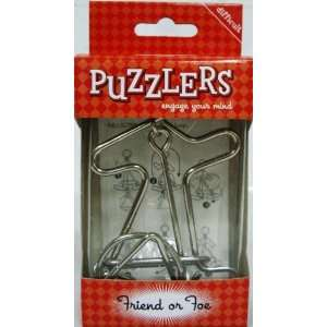 Puzzlers Friend or Foe oys & Games