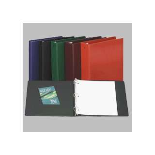 Economy Ring Binder, 3 Capacity, 11x8 1/2, Green