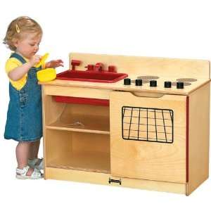 Toddler Pretend Play 2 in 1 Kitchen by Jonti Craft Toys