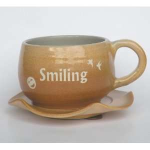 Mug,Coffee Mug,Coffee Cup ,Smiling 100% Handcrafted Pottery