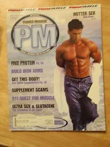 PLANET MUSCLE bodybuilding fitness magazine/SCOTT MARKEY 2 03 |