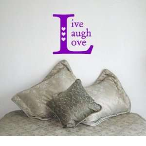 com LIVE LAUGH LOVE SQUARE   Family Country Design   Vinyl Wall Room