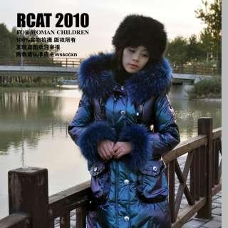 ORIGINAL PRICE EURO 1150 REAL FUR WOMENS WINTER LONG JACKET COAT