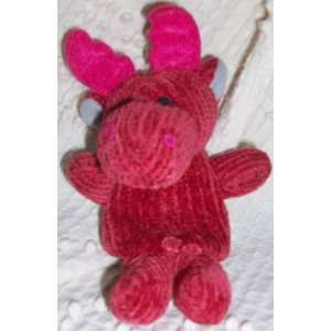 4 Plush Red Dragon Hippo Finger Puppet Doll Toy Toys & Games