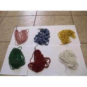 PLASTIC BEADS/DOZENAS DE COLLARES PARA CADA ORICHA CUENTAS PLASTICAS