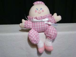 ADORABLE PINK HUMPTY DUMPTY BABY GIRL TOY RATTLE~7