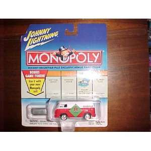 Monopoly Die Cast Metal 164 scale   NO PARKING VW Bus * by Playing