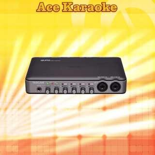TASCAM US 600 USB AUDIO/MIDI INTERFACE w/ phantom power
