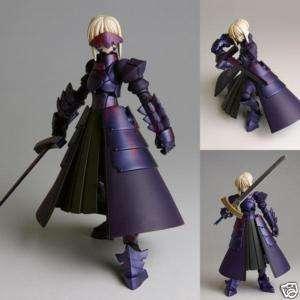 Kaiyodo Revoltech Fate Stay Night 2G Saber Alter Black