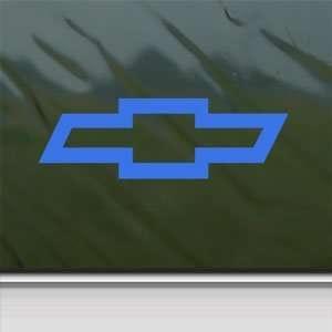 CHEVROLET CHEVY BOWTIE Blue Decal Truck Window Blue Sticker