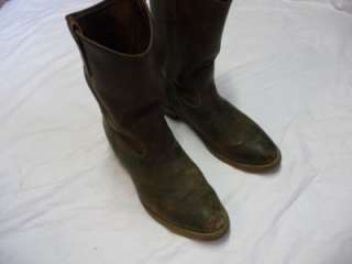 Red Wing 1155 Pecos Brown Leather Work Cowboy Boots Mens size 13 D