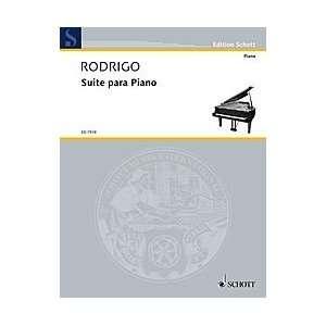 Suite for Piano Composer Joaqufn Rodrigo Sports