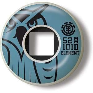 Element Skateboard Wheels Ferocity Logo 52mm: Sports & Outdoors