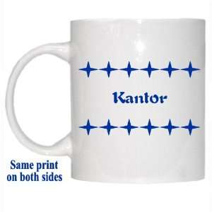 Personalized Name Gift   Kantor Mug: Everything Else