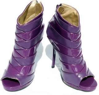 material all manmade material patent leather width medium heel height