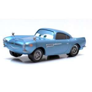 Pixar Cars 2 Finn McMissile 1:55 Racer Die cast Vehicle: Toys & Games