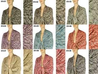 Cashmere Silk Wool Pashmina Scarf Shawl Wrap Cape 814s