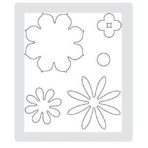 NEW Big Shot Stampin Up Sizzix Original Die BLOSSOM PARTY Flowers