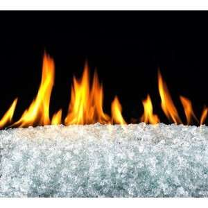 Peterson Real Fyre GL 7 C Clear Fireplace Glass Crystals