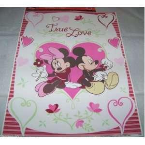 Disney Minnie & Mickey Mouse True Love & Hearts Valentine
