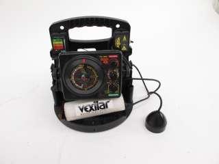 Vexilar fl 8 depth fish finder ice fishing flasher for Ice fishing flasher
