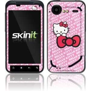 Skinit Hello Kitty Pink Bow Peek Vinyl Skin for HTC Droid