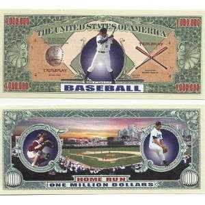 Set of 10 Bills Baseball Million Dollar Bill Toys & Games